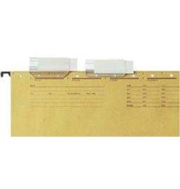 LEITZ Sichtreiter, ALPHA®, PVC, 4zeilig, 60 x 33 mm, transparent