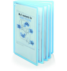 DURABLE Sichttafel SHERPA® PANEL BACT-O-CLEAN, A4, hellbl