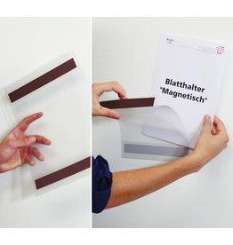 dinafix Sichttasche, magnetisch, Antireflexfolie, A4 hoch, transparent