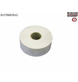 DIEBOLD NIXDORF Thermorolle, mit Steuermarke, 80mmx420m, Kern-Ø: 25,4 mm, weiß