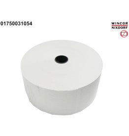 DIEBOLD NIXDORF Thermorolle, ohne Steuermarke, 80mmx420m, Kern-Ø: 25,4 mm, weiß