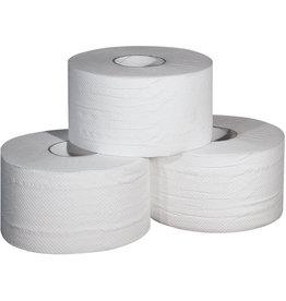 profix Toilettenpapier, Zellstoff, 2lg., Rolle, 1.000Bl., 9,7x18cm, hochwe