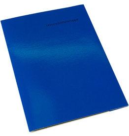 VOKO datox Unterschriftsmappe OM1, Kart., A4, 10 Fächer, blau
