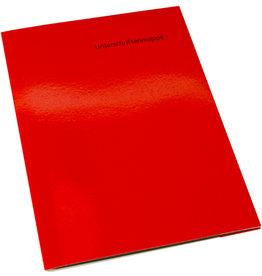 VOKO datox Unterschriftsmappe OM1, Kart., A4, 10 Fächer, rot