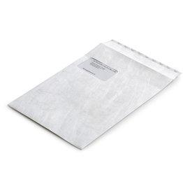 Bong Versandtasche, mit Fenster, hk, C4, 229x324mm, Tyvek®, weiß