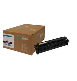 Ecotone HP 128A (CE322A) toner yellow 1300 pages (Ecotone)