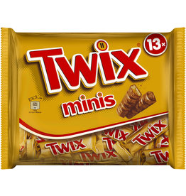 Twix Schokoriegel, Minis, Beutel