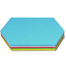 nobo Moderationskarte, Königswabe, 29,7 x 16,5 cm, 130 g/m², sortiert