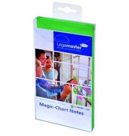 Legamaster Haftnotiz Magic-Chart Notes, rechteckig, 10 x 20 cm, grün