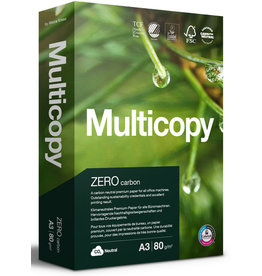 MultiCopy Multifunktionspapier ZERO, A3, 80 g/m², TCF, weiß