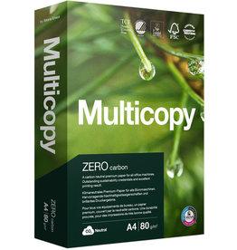 MultiCopy Multifunktionspapier ZERO, A4, 80 g/m², TCF, weiß