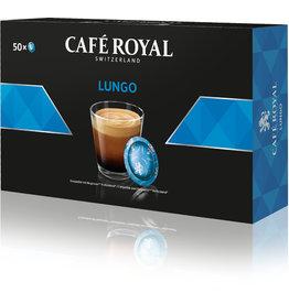 CAFÉ ROYAL Kapsel, LUNGO, nussig-schokoladig, koffeinhaltig, 50 x 6 g