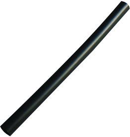 NATUREStar Trinkhalm, JUMBO, Einweg, starr, PLA, Ø: 7 mm, L: 13,5 cm, schwarz