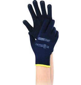 HYGOSTAR Handschuh Pearl, Nylon/Baumwolle, Größe: M, Größe: 8, dunkelblau