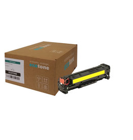 Ecotone HP 410X (CF412X) toner yellow 5000 pages (Ecotone)