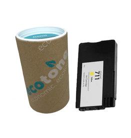Ecotone HP 711 (CZ132A) ink yellow 30ml (Ecotone)