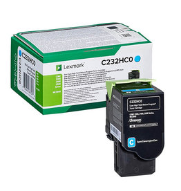Lexmark Lexmark C232HC0 toner cyan 2300 pages (original)