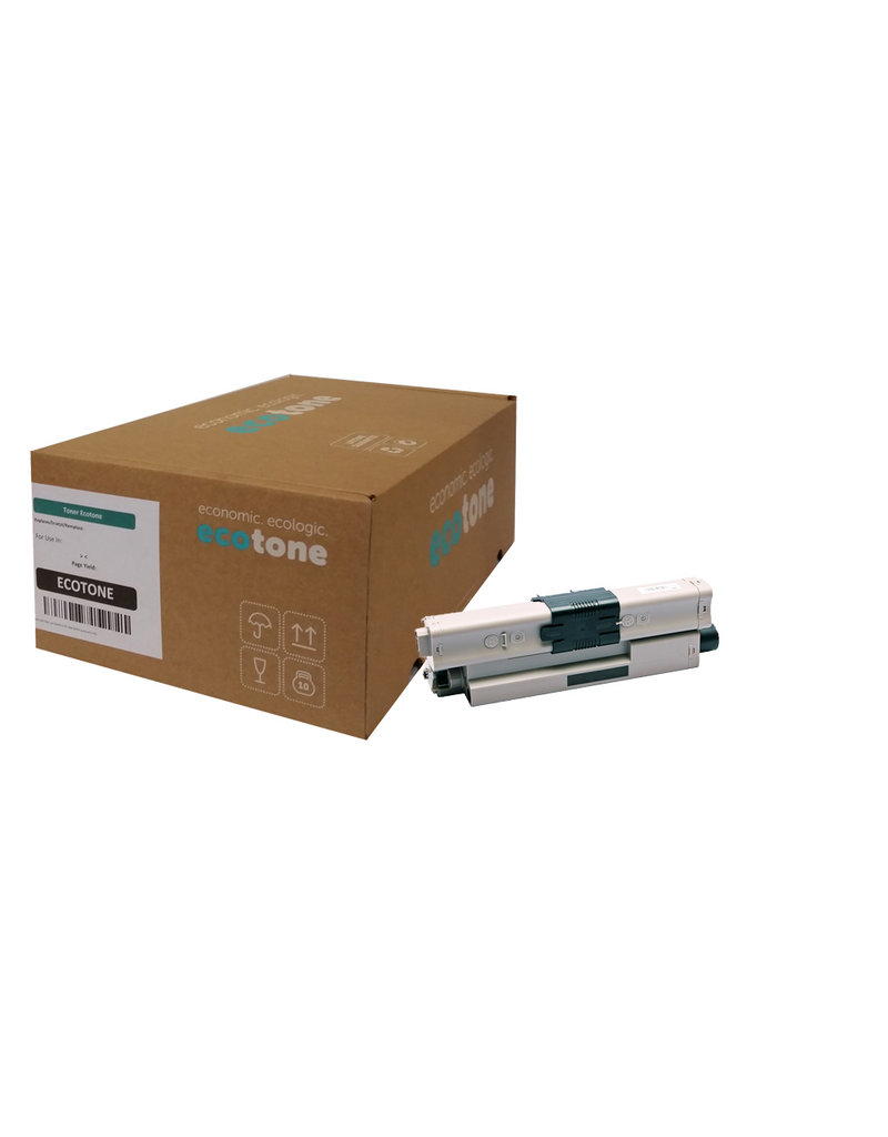 Ecotone OKI 44469814 toner black 5000 pages (Ecotone)