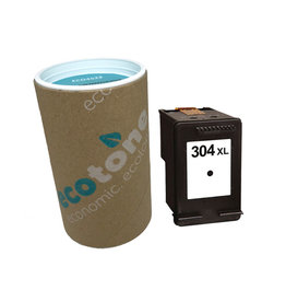 Ecotone HP 304XL (N9K08AE) ink black 300 pages (Ecotone)