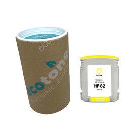 Ecotone HP 82 (C4913A) ink yellow 69ml (Ecotone)