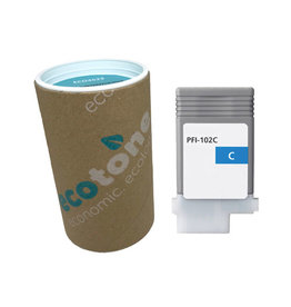 Ecotone Canon PFI-102C (0896B001) ink cyan 130ml (Ecotone)