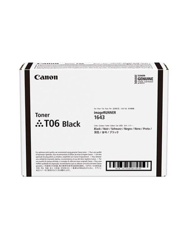 Canon Canon T06 (3526C002) toner black 20500 pages (original)