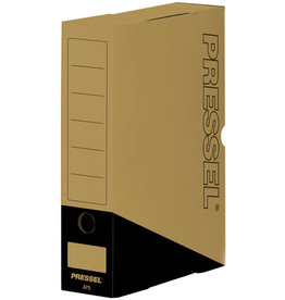 Pressel Archivbox, Steckverschluss, A4, 7,5x26x32cm, natur