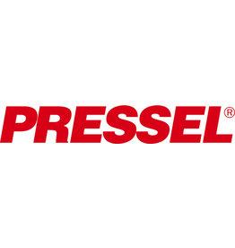 Pressel Archivbox, Steckverschluss, A4, 8x26x32cm, weiß/schwarz