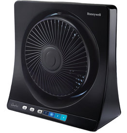 Honeywell Tischventilator HT-354E4, 35 W, Kunststoff, 4 Leistungsstufen, schwarz