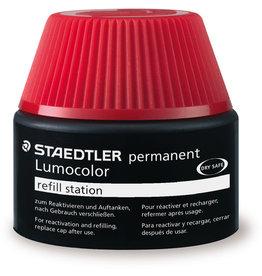 STAEDTLER Nachfüllstation Lumocolor®, permanent, Schreibf.: ro