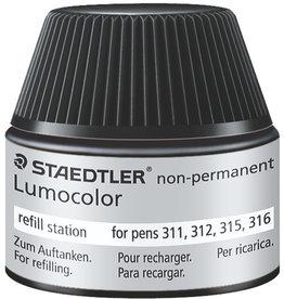 STAEDTLER Nachfüllstation Lumocolor®, non-perm., Schreibf.: sw