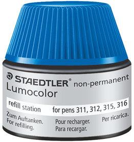 STAEDTLER Nachfüllstation Lumocolor®, non-perm., Schreibf.: blau