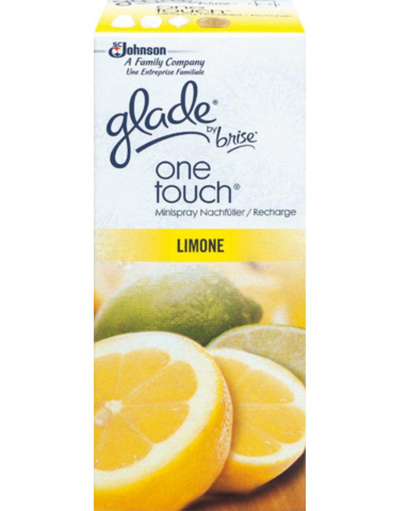 Glade by Brise Duftnachfüllung, one touch®, Patrone, 12 x 10 ml, Limone