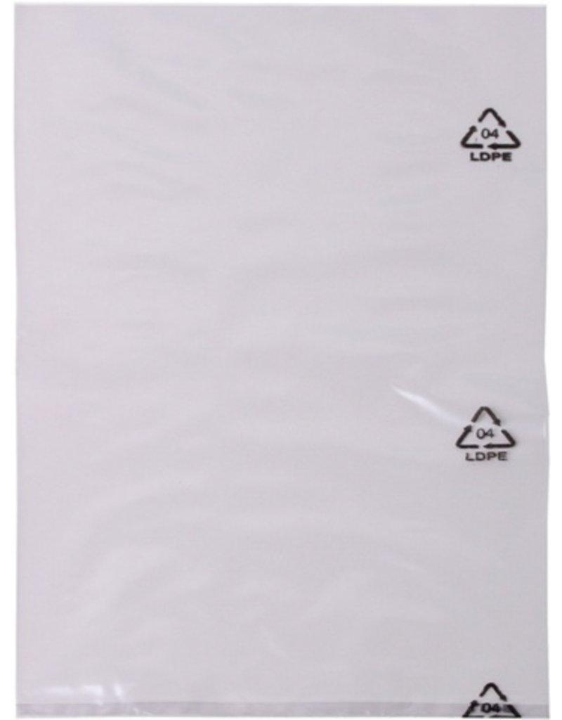 DEBATIN Flachbeutel DEBABAG, PE, 0,05 mm, 155 x 240 mm, farblos, transparent