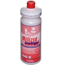 Milizid Sanitärreiniger, kraftgel, flüssig, Flasche