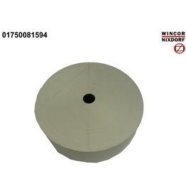 DIEBOLD NIXDORF Thermorolle, 80 mm x 874 m, Kern-Ø: 25 mm, Rollen-Ø: 260 mm, weiß