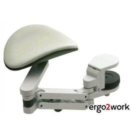 Ergo2Work Unterarmstütze Ergorest, Medium, Klemme: 15 - 43 mm, grau