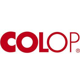 COLOP Ersatzkissen E/10, mit Fassung, getränkt, rot