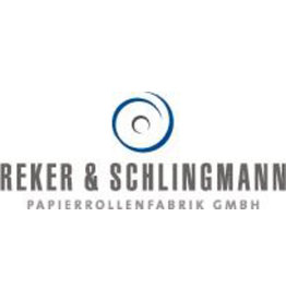 Reker & Schlingmann Thermorolle, EC-Text, 1f., 57mmx50m, weiß