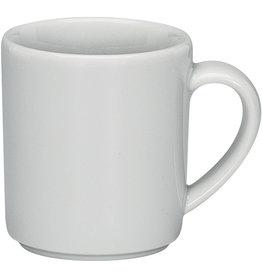 Schönwald Espressotasse Joker, Mehrweg, Porzellan, rund, 70 ml, 5,6x6,2cm, weiß
