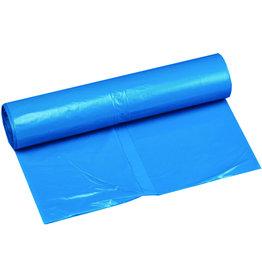 Müllsack standard, LDPE, 0,05mm, 200l, 800x400x1.200mm, blau