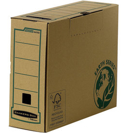 Bankers Box Archivbox, 20 St., Karton (RC), A4, 10 x 31,5 x 25,5 cm, braun