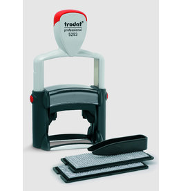 trodat Stempel TYPOMATIC LINE PROFESSIONAL, 47x28mm, 6z., Schrifth.: 3 / 4 mm