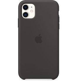 APPLE Smartphonerahmen, für APPLE iPhone 11, Silikon, schwarz