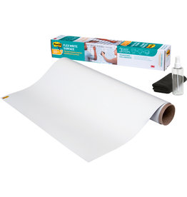 Post-it Folie Flex Write Surface, hk, blanko, 122 cm x 0,914 m, weiß