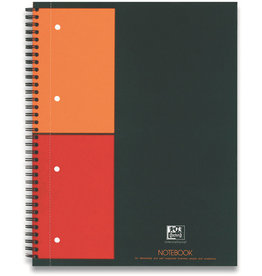 Oxford Collegeblock ACTIVEBOOK, kariert, A5+, 80 g/m², hf, weiß, 80 Blatt