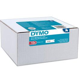 DYMO Schriftbandkassette, D1, 12 mm x 7 m, schwarz auf weiß