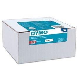 DYMO Schriftbandkassette, D1, 19 mm x 7 m, schwarz auf weiß