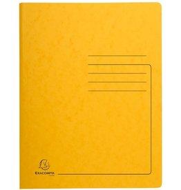 EXACOMPTA Spiralhefter, Colorspankarton, 1/1 Vorderdeckel, A4, gelb
