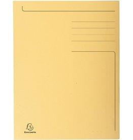 EXACOMPTA Einschlagmappe Forever®, Karton (RC), 3 Klappen, A4, sand
